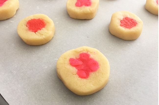 If you need a cute and festive treat for your Valentine's party, these Slice and Bake Valentine Cookies will be perfect.