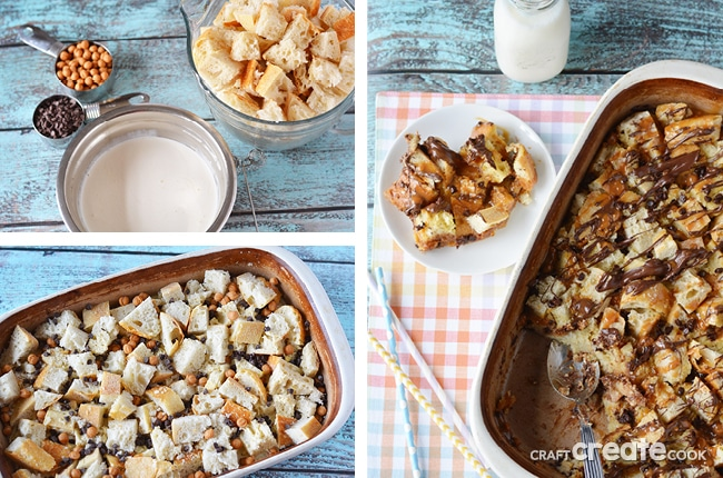 You'll love this modern chocolate caramel spin on a traditional bread pudding recipe.