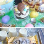 This chocolate peanut butter trifle recipe is perfect for Easter!
