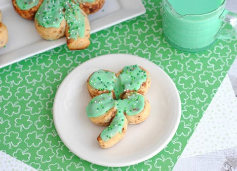 Shamrock Cinnamon Rolls are the perfect St. Patrick's Day breakfast!