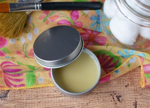 Citrus Honey Homemade Lip Balm using essential oils