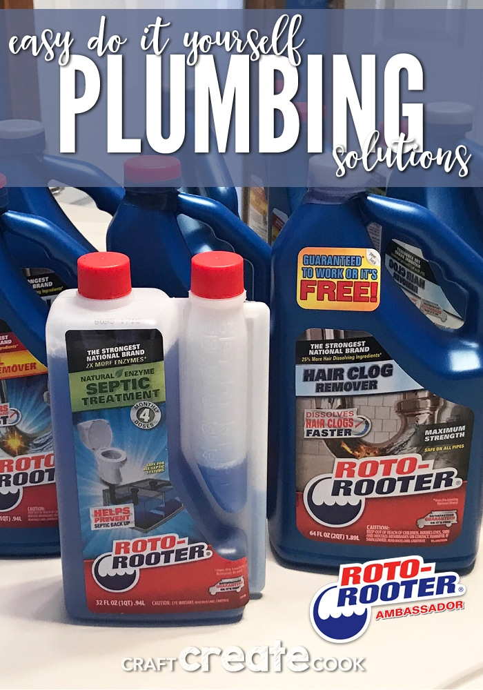 Clogged drains are no match for Roto-Rooter products.