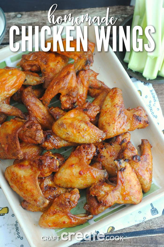 These homemade chicken wings are keto friendly, easy to make and taste just as good as the restaurant version!