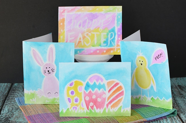 These Easter Cards to Make with Kids are a fun and easy project for the whole family to enjoy.