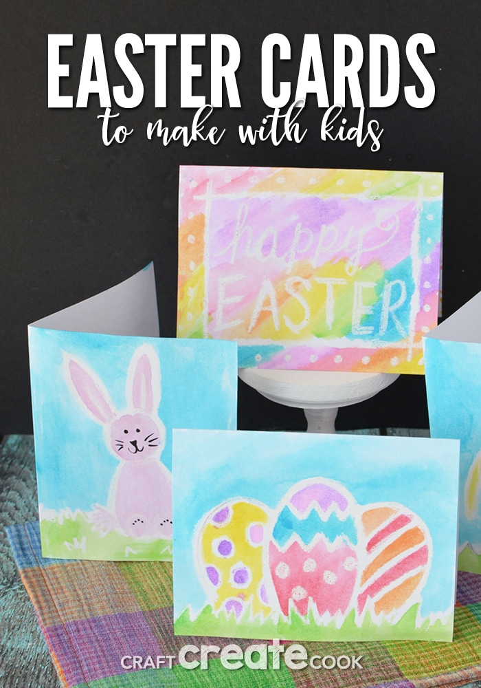 These Easter Cards to Make with Kids are a fun and easy project or the whole family to enjoy.