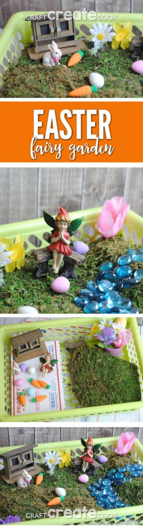 Fairy Gardens are perfect for spring, especially Easter!