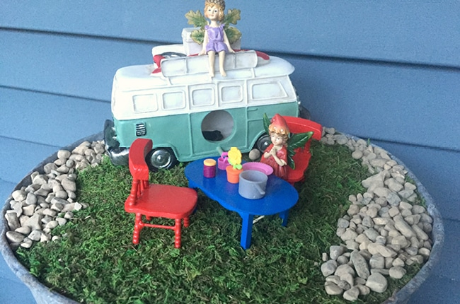 Making you own fairy garden is super fun and a great way to interact with your kids!