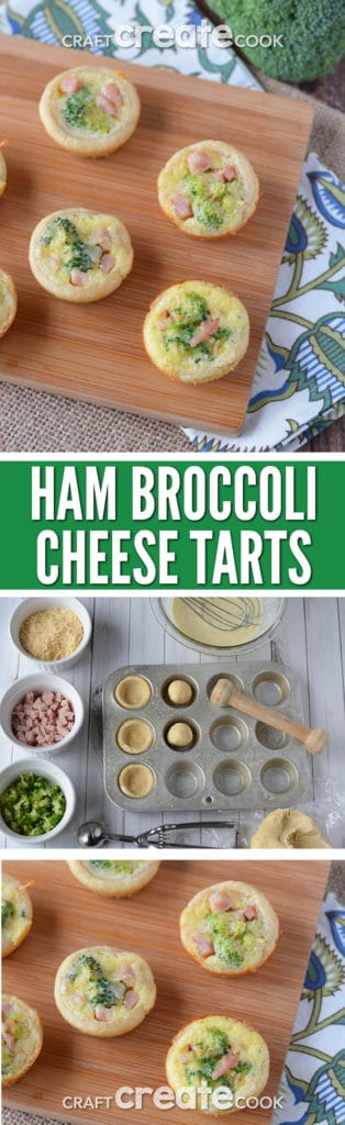 Easter has come and gone and it's the perfect time to make our Ham Broccoli Tarts with that leftover ham!