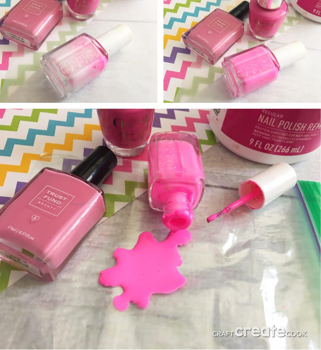 This April Fools Day Pranks Nail Polish Spill is the perfect prank for your Husband on this glorious April Fool's Day.