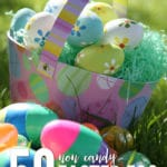 If your looking for Ideas for a candy free Easter or at least a little less candy than usual you'll want to check out our list of 50 Candy Free Easter Egg Fillers for Kids.