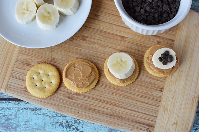 It takes only 4 ingredients to make this fun and easy after school snack for kids.