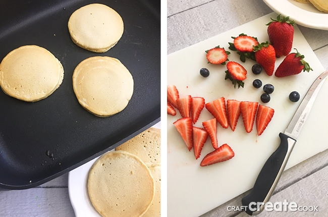Our delicious Light and Fluffy Dairy Free Pancakes are a great way to start your morning.