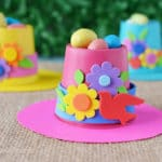 Springtime Bonnets K-Cup Crafts to Make