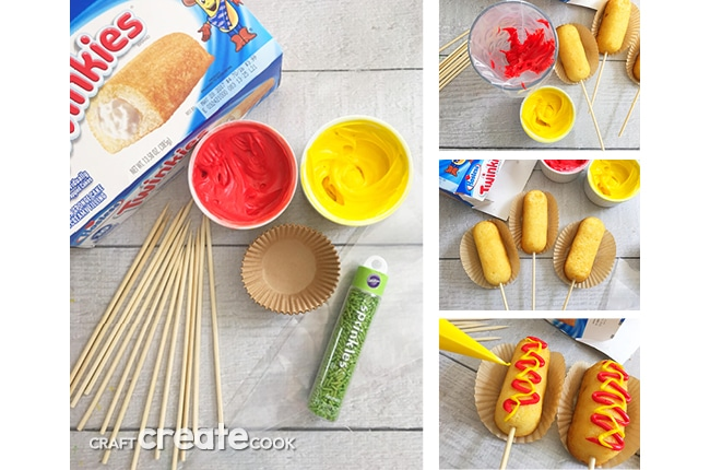 These Dessert Corn Dogs on a Stick are the perfect quick and easy treat.