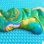 Glittered Rainbow Slime