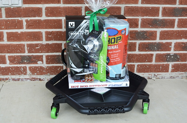 We have the perfect Father's Day Gifts for Car Lovers and a unique way to package these fun gifts.