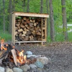 Easy Firewood Storage Using Pallets