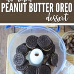This no bake peanut butter OREO dessert won't last long and you'll have everyone wanting the recipe.