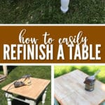 This tutorial will teach you How to Easily Refinish a Table Yourself with little to no skill.