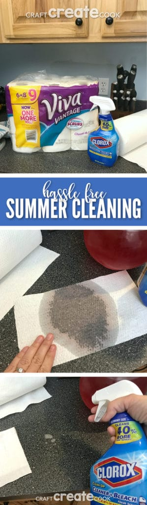 Enjoy your summer this year and make cleaning hassle free!