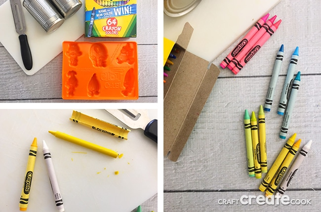 Our Make Your Own Trolls Crayons are full of happiness and rainbows.