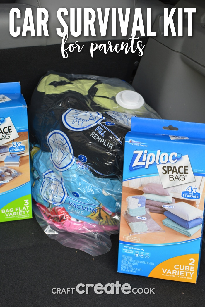 You'll be amazed how easy it is to put together a car survival kit and always be prepared while keeping your summer lifestyle organized.