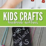 Kids craft ideas to sell can be hard to find, but these necklaces are perfect for turning a fundraising profit!