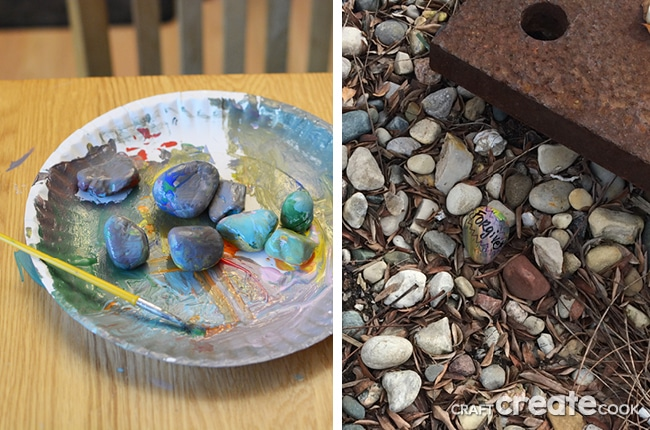 If you haven't seen painted rocks hidden in your neck of the woods, it's time to get on the bandwagon.