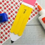 Popsicle Stick Pencil Craft for Kids