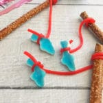 Shark Week Fishing Pole Treats