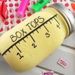 Mason Jar Box Top Collection Jar