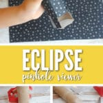 Make this easy DIY Eclipse Pinhole Viewer to view the eclipse!