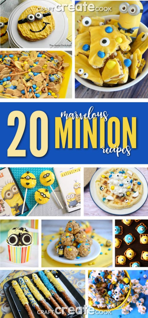 These marvelous minion recipes are perfect for your minion party or minion movie night!