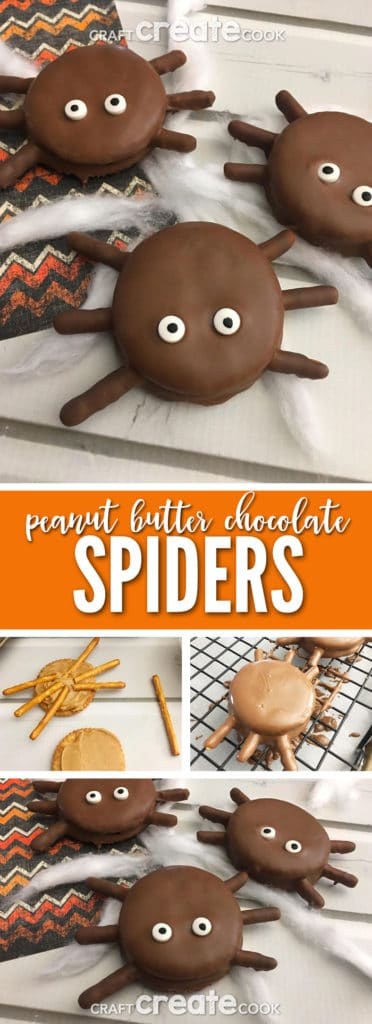 These Chocolate Covered Spider Treats are a perfect creepy crawly treat for Fall.