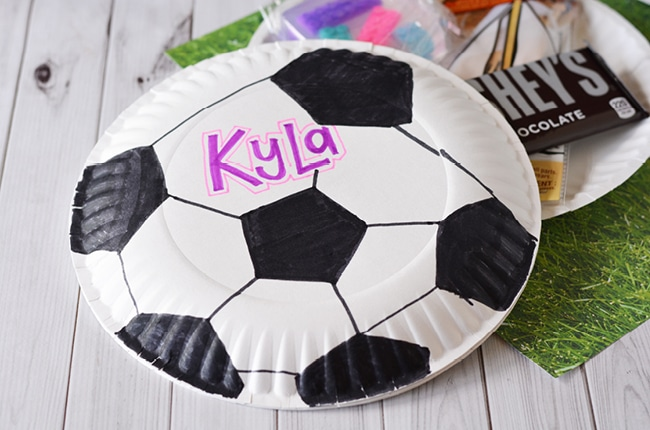 Paper Plate Envelopes are easy to make and can be sent in the mail!