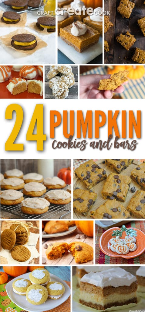 These pumpkin cookie and bar recipes are going to take over your kitchen this fall!