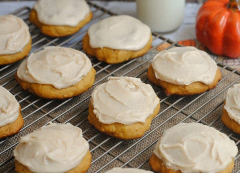 If you love pumpkin, you have to make our ultimate melt in your pumpkin cookies!
