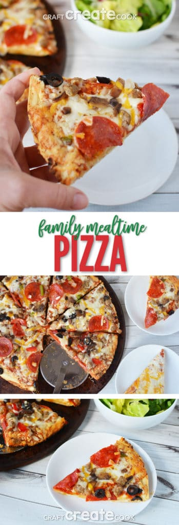 Stop pulling your hair out and start a simple mealtime with Red Baron® Pizza.