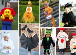 Our list of 25 DIY Creative Kids Halloween Costumes is perfect for Halloween!
