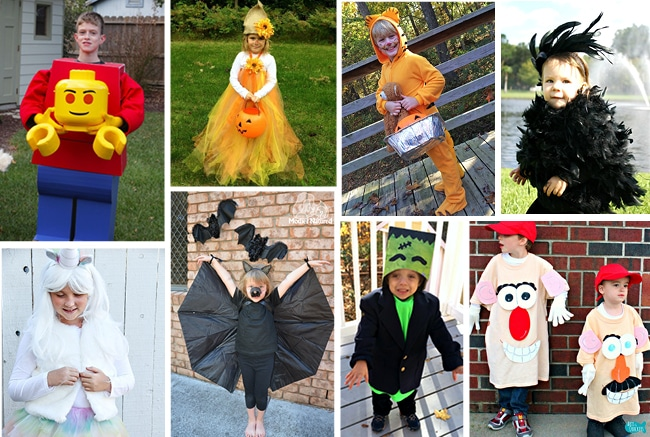 25 Diy Creative Kids Halloween Costumes Craft Create Cook