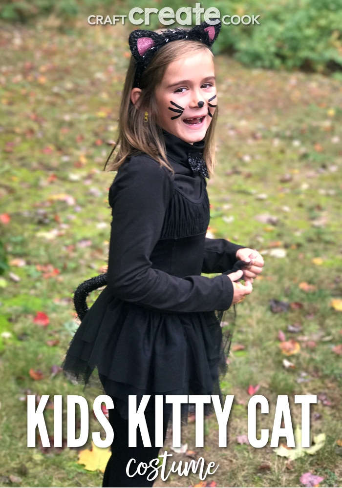 Craft Create Cook Diy Kids Kitty Cat Costume Craft Create Cook