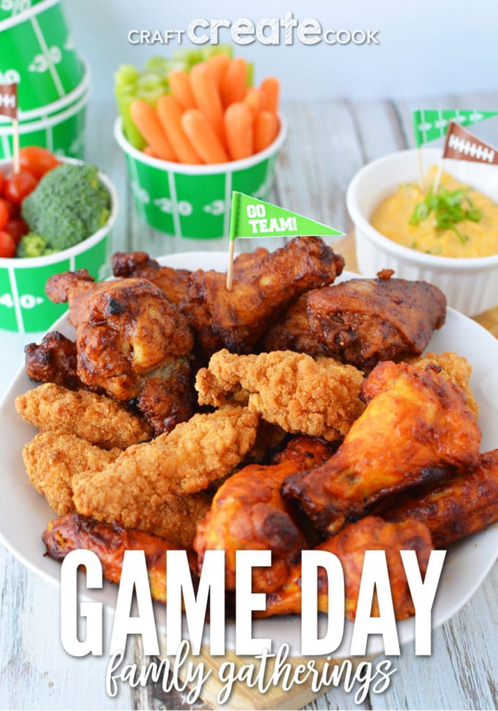 Family game day gatherings are always better with Tyson® chicken products!
