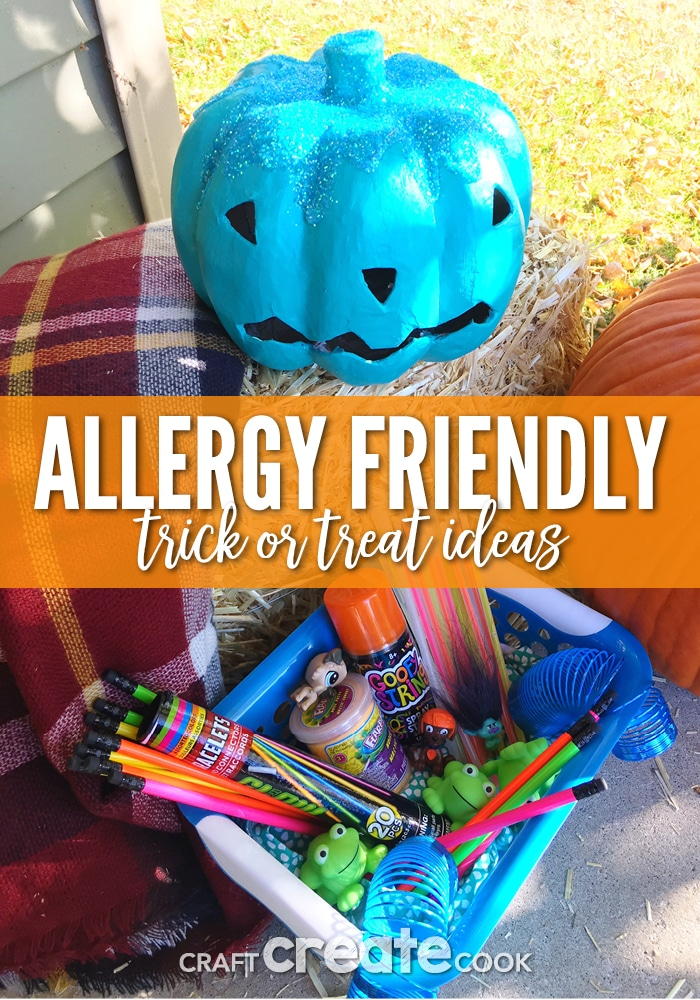Our Allergy Friendly Trick-Or-Treat Ideas are sure to make your teal pumpkin project a cinch this year.