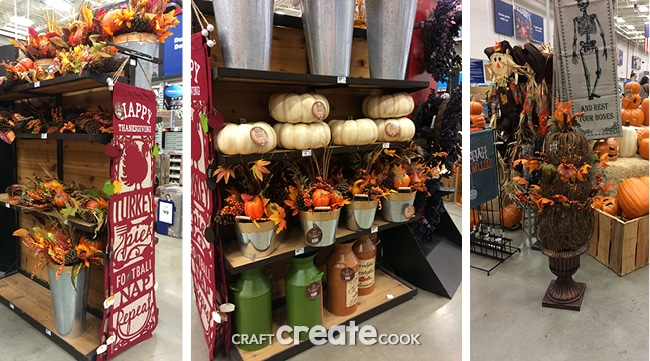 Add this gorgeous and trendy fall mantel decor to your home for the holidays!
