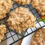 Pumpkin Spice No Bake Cookies