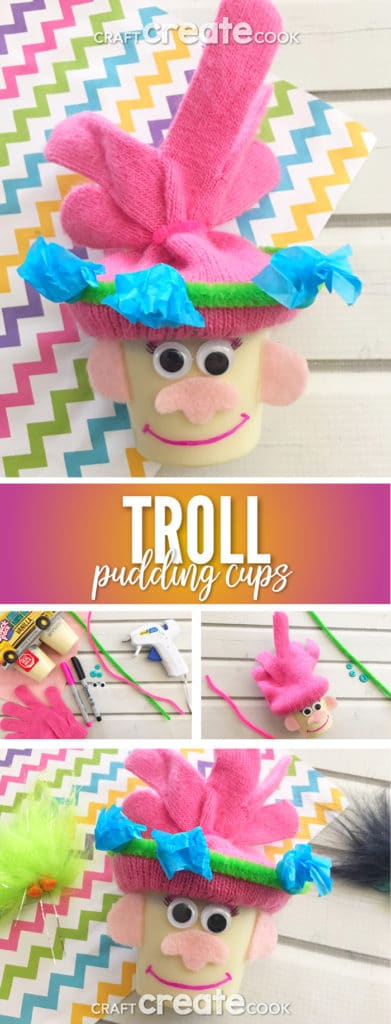 Our Trolls Pudding Cups for Kids brings happiness to a whole new level.