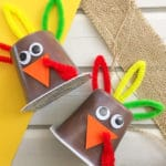Turkey Pudding Cups for Kids