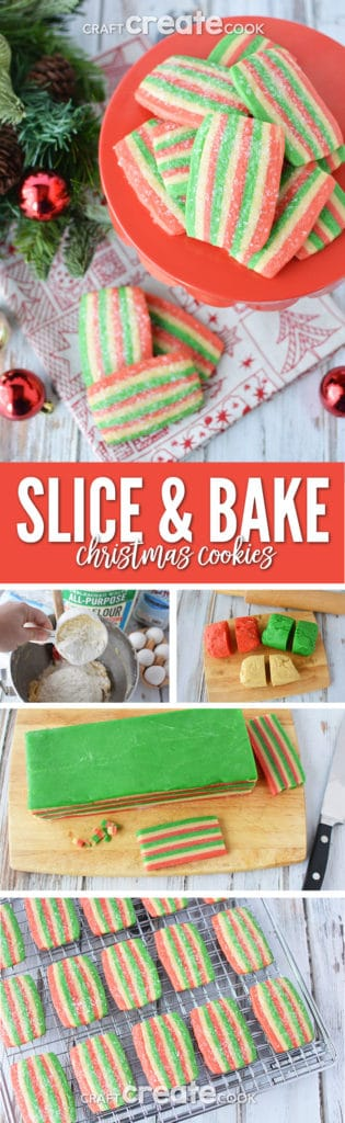 Slice and bake Christmas cookies with my easy, make ahead recipe will bring holiday magic to everyone.