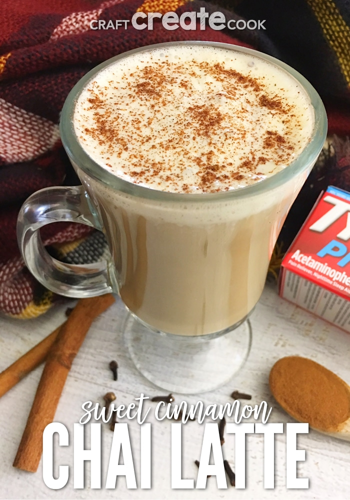 Our Sweet Cinnamon Chai Latte makes for a great relaxing beverage after a long day.