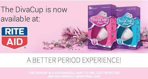 Discover period confidence with The DivaCup® Menstrual Cup NOW available at Rite Aid! The DivaCup® offers 12 hours of leak-free protection, is easy-to-use, comfortable and, because it is reusable and BPA-free, it's better for you and the planet.